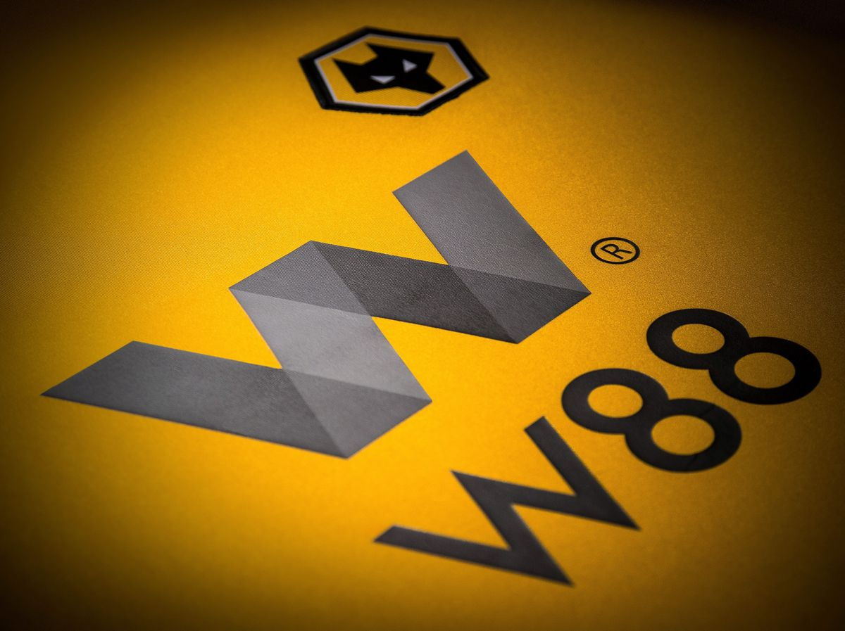 W88's logo as it will be displayed next to the Wolves crest.