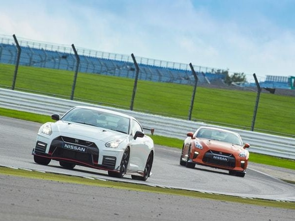 Taking on Silverstone in a selection of very special Nissan GT-Rs