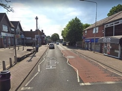 Man arrested after vehicle rammed into fencing in Kingswinford