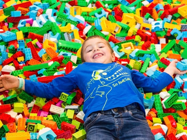WIN: A Pacman LEGO set and family ticket to BrickLive in Birmingham