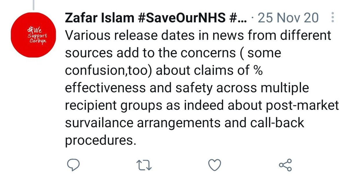 One of the tweets posted by Councillor Islam
