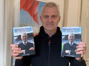 Brian Little with his new book.
