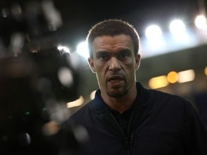 Valerien Ismael Head Coach / Manager of West Bromwich Albion is interviewed after the match for WBA \ West Bromwich Albion TV \ Television. (AMA)