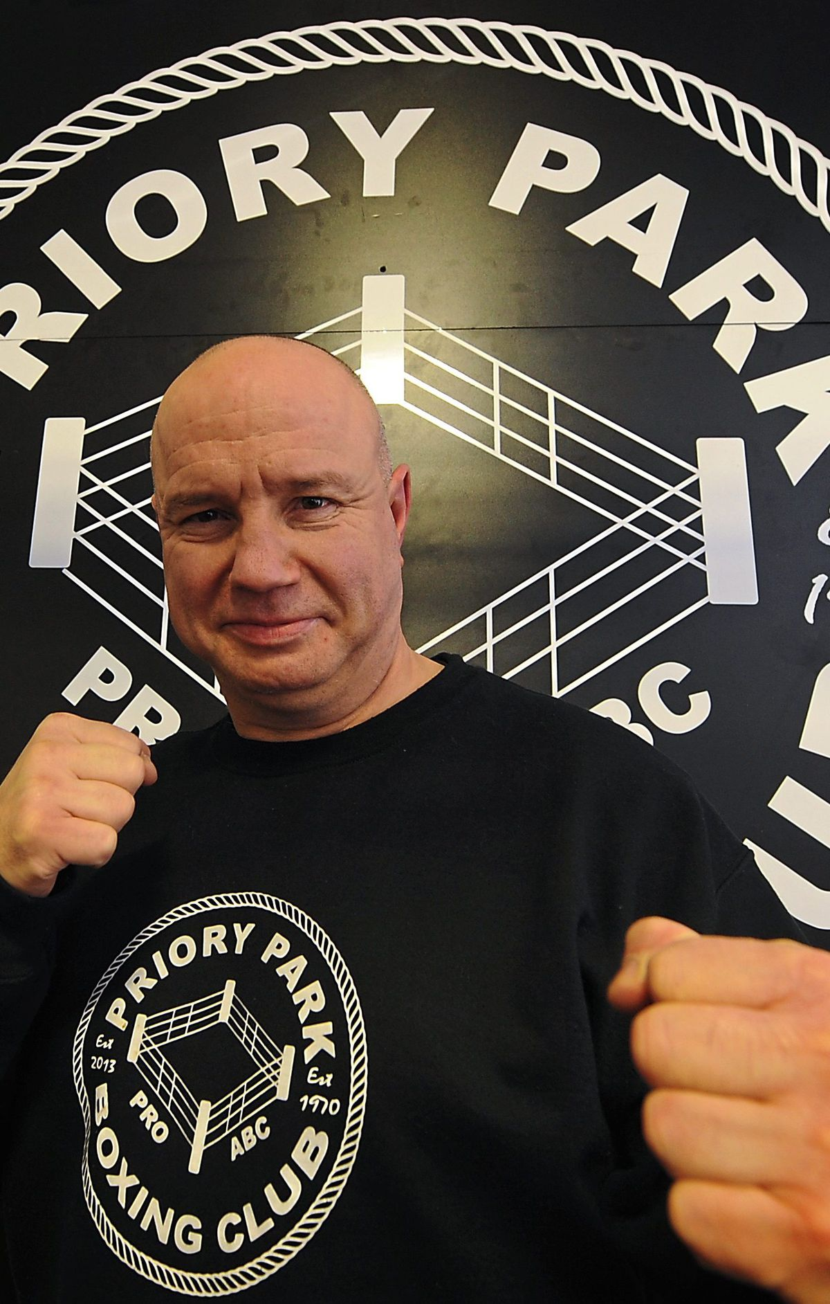 Paul Gough, chairman of Priory Boxing Club in Dudley, is looking forward to the surge of interest in sports off the back of the Olympics