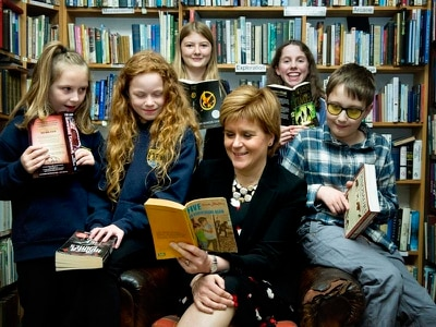 Nicola Sturgeon reveals her favourite novel