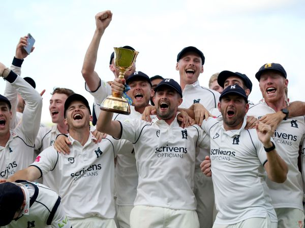 Warwickshire clinched the County Championship title
