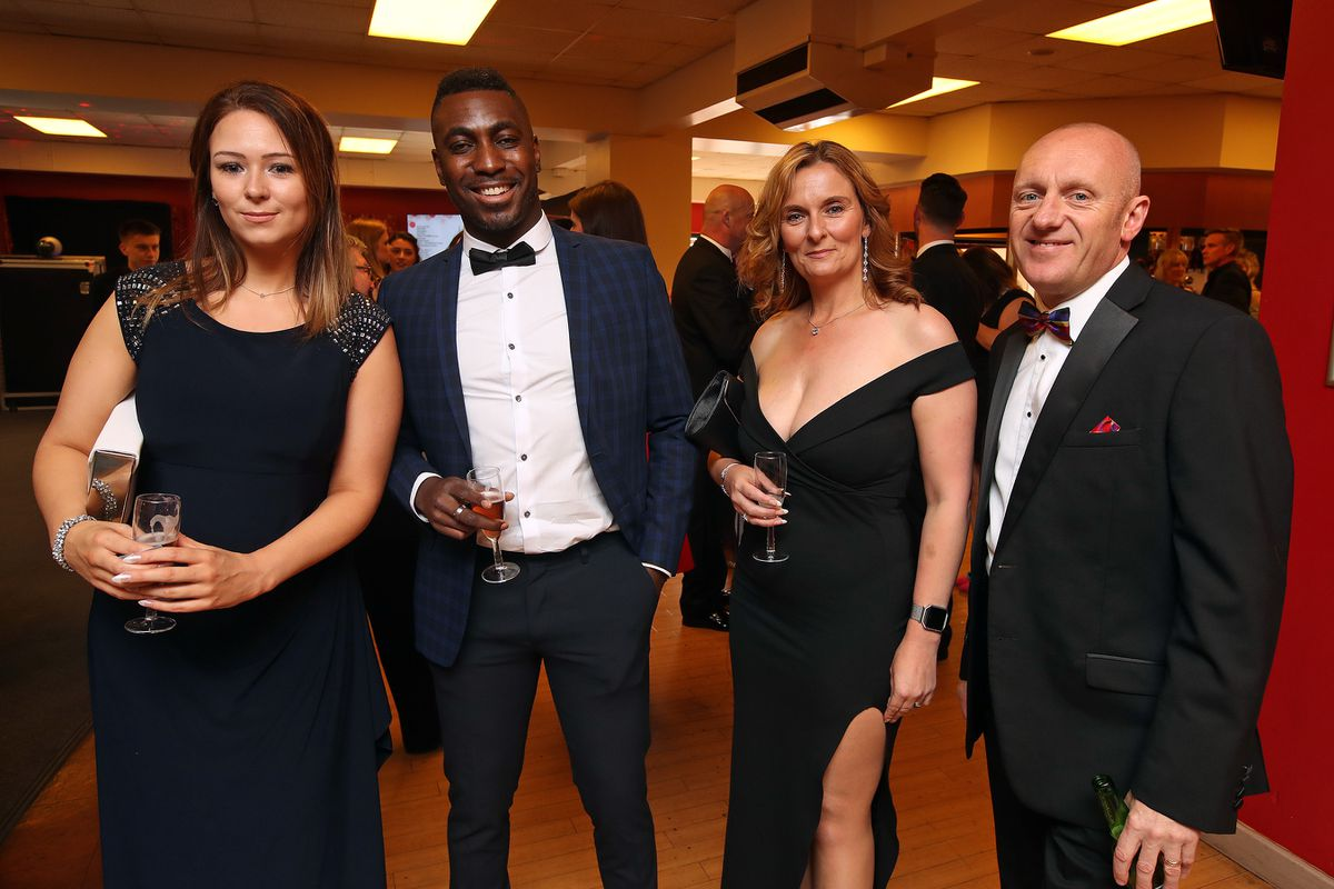 Charlotte Horton, Roy Reid, Lucy Cashmore and Dean Barber