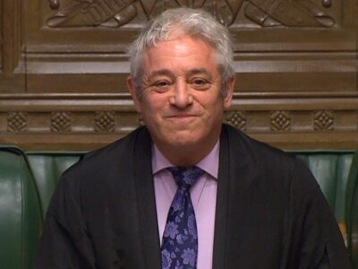 'Ordeerrrrr': John Bercow finds international fame with all eyes on Brexit
