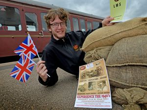 Liam Wesson is looking forward to welcoming people to the 1940s festival