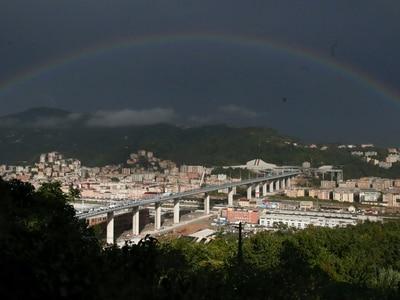 New Genoa bridge inaugurated despite boycott by victims' families