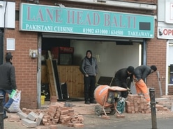 Repairs under way at balti takeaway 'deliberately driven into' by 4x4