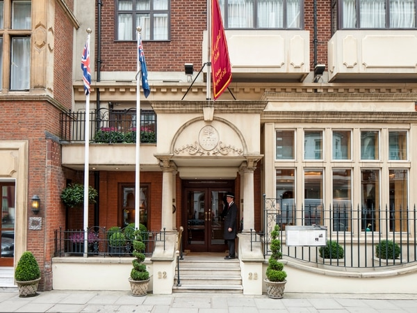 Travel review: The Capital Hotel on Basil Street, Knightsbridge, London
