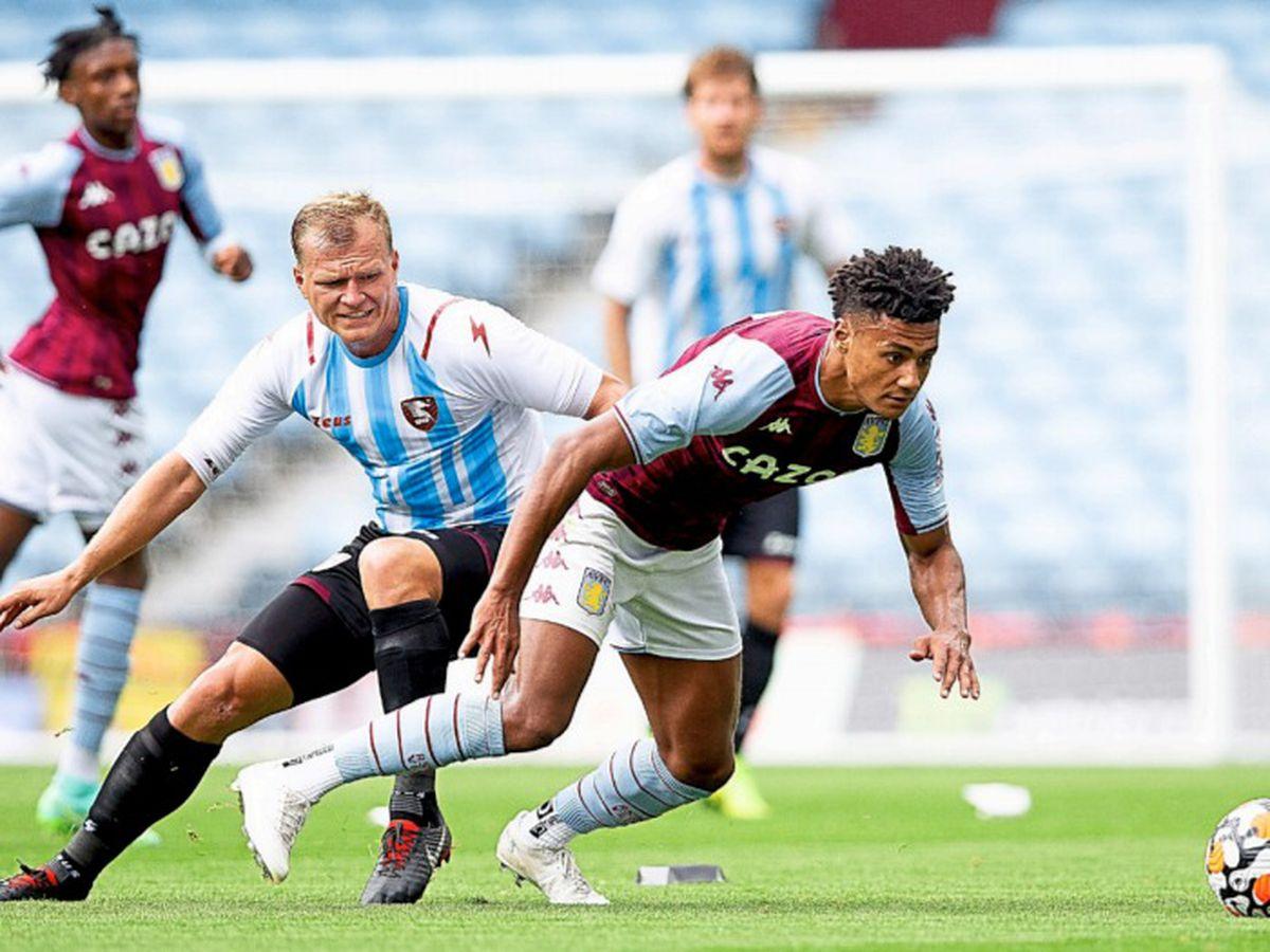 Ollie Watkins on the ball (Courtesy Aston Villa FC)