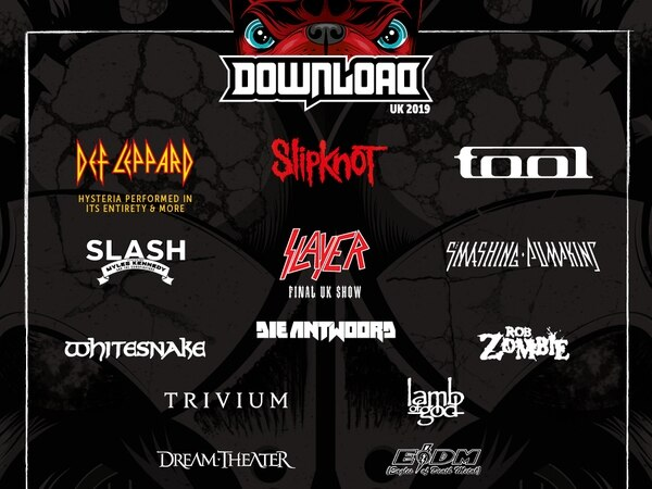 Download Festival 2019: Smashing Pumpkins, Slayer, Lamb Of God and more announced
