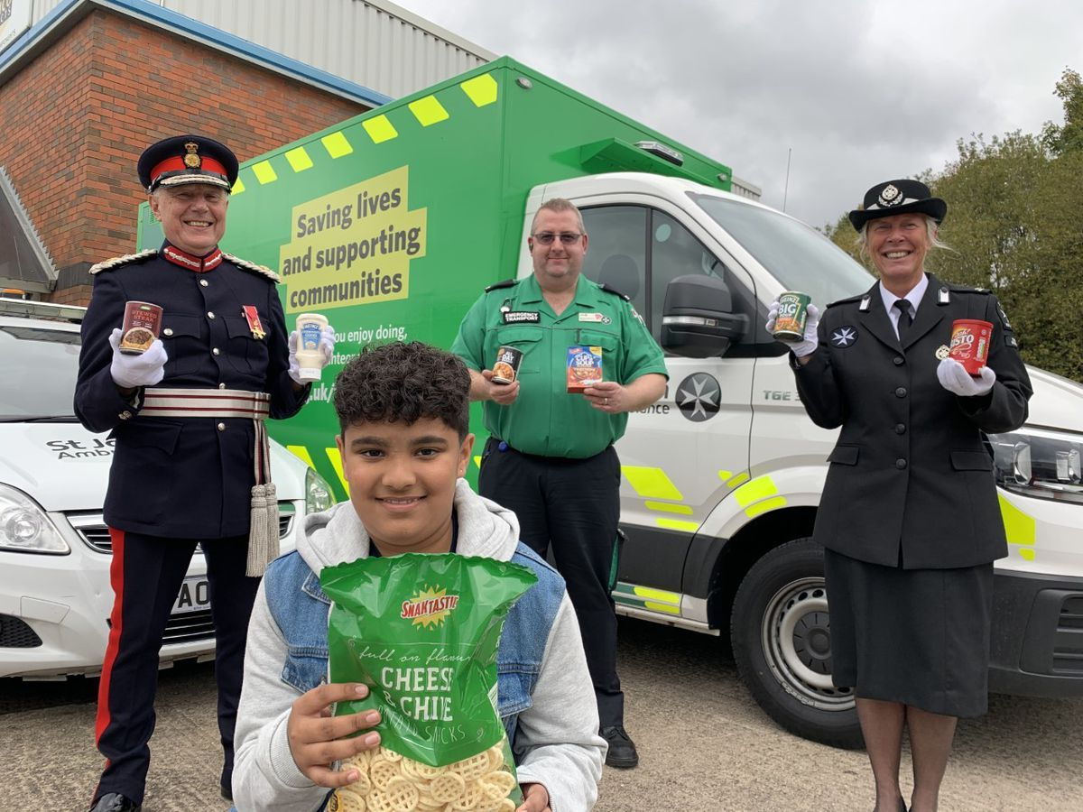 Harvey Kataria was one of eight Black Country youngsters to receive the Young Active Citizen award