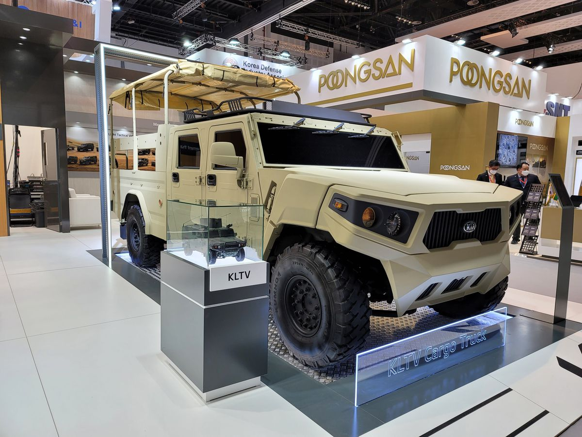 Kia Light Tactical Defence Vehicle