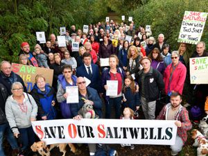 Plans to build nine new homes at Saltwells Nature Reserve have been rejected