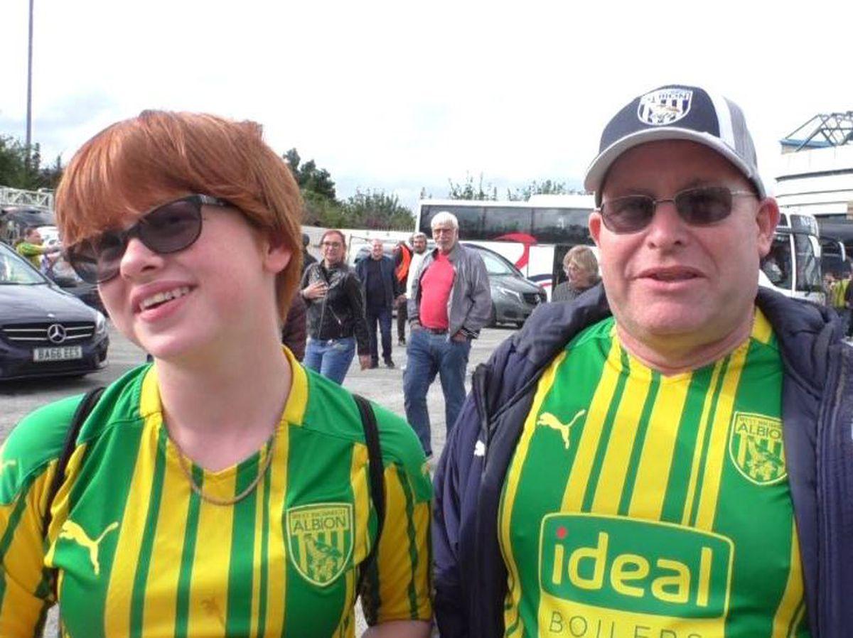Albion fans.