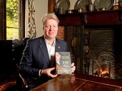 No mug's game: Earl Spencer in Wolverhampton to promote new book - WATCH