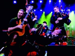 Birmingham gig for Red Hot Chilli Pipers