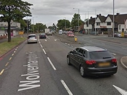Woman injured in crash on Wolverhampton Road