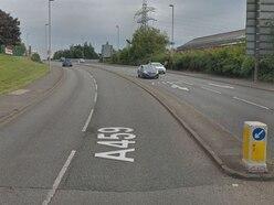 Man 'taken ill' before crashing into three cars