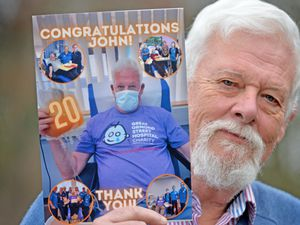 John Tett has donated blood at 20 donor centres to raise cash for causes like the Great Ormond Street Hospital