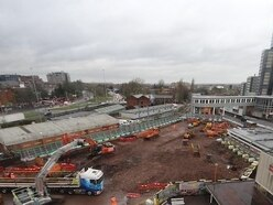 Foundations laid for new Wolverhampton Railway Station