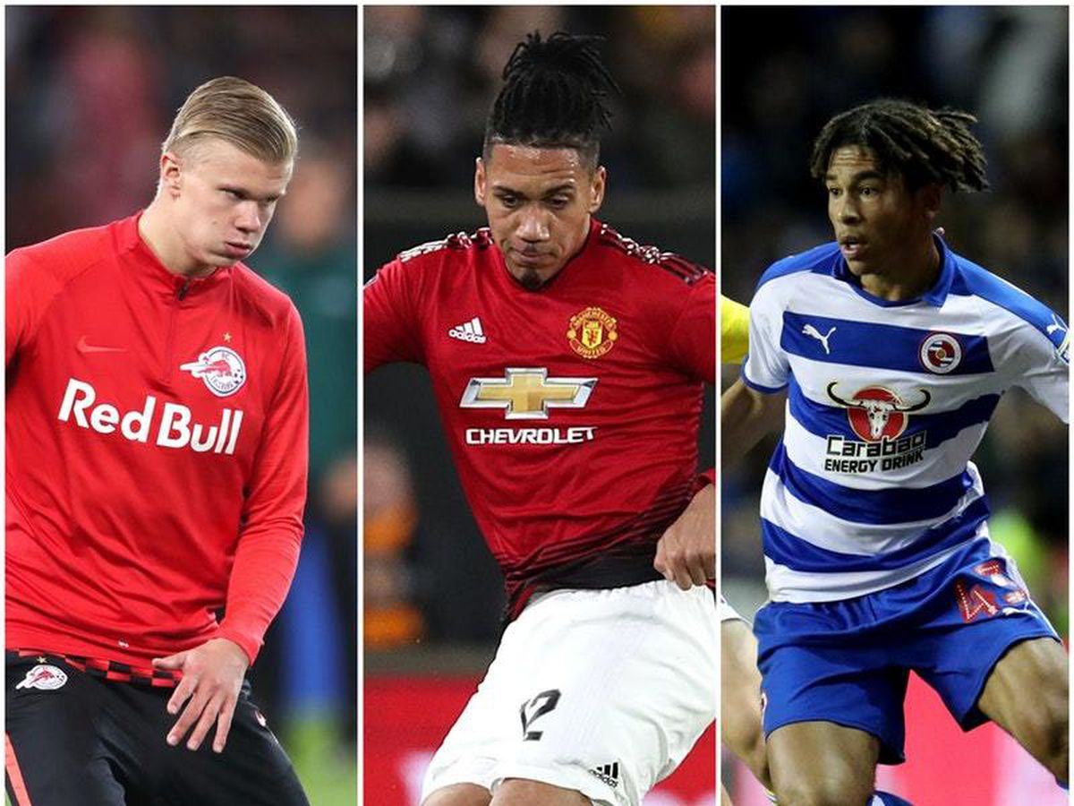 Erling Haaland Chris Smalling and Danny Loader are part of the latest transfer speculation