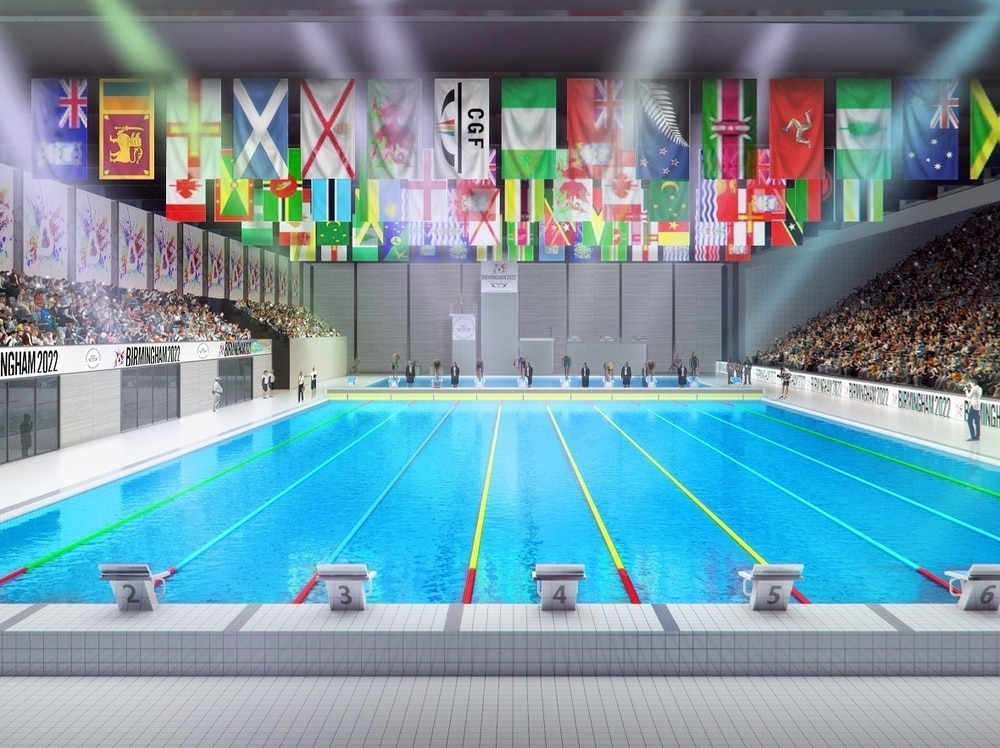 Location of sandwell 39 s commonwealth games swimming centre revealed express star University of birmingham swimming pool
