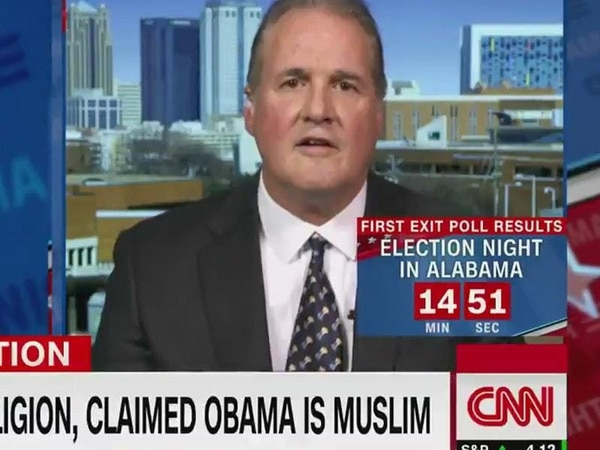 Roy Moore spokesman left speechless after learning politicians don't have to swear on Bible