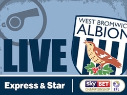 West Brom 2 Derby County 0 - As it happened