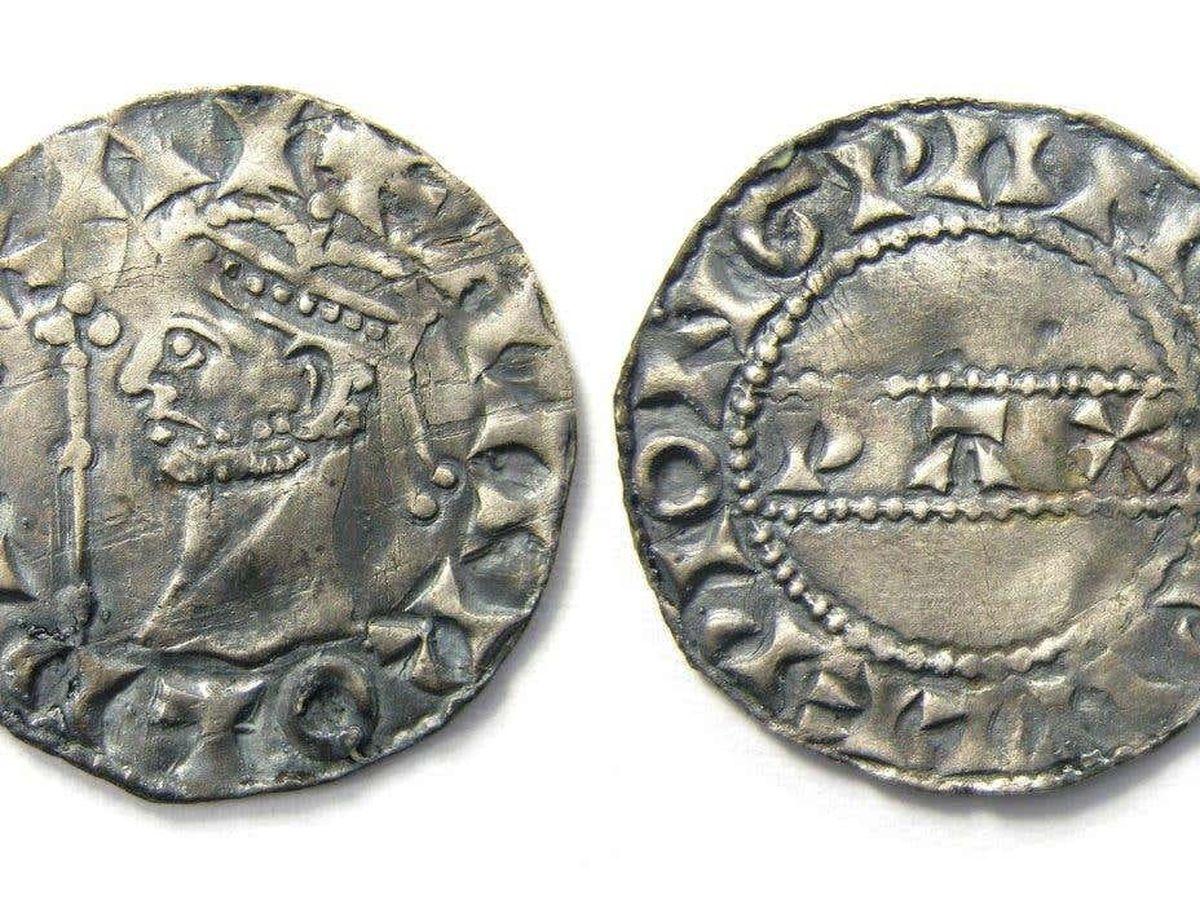 The Harold II silver penny found by Reece Pickering