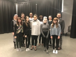 University of Wolverhampton students get advice from theatre expert
