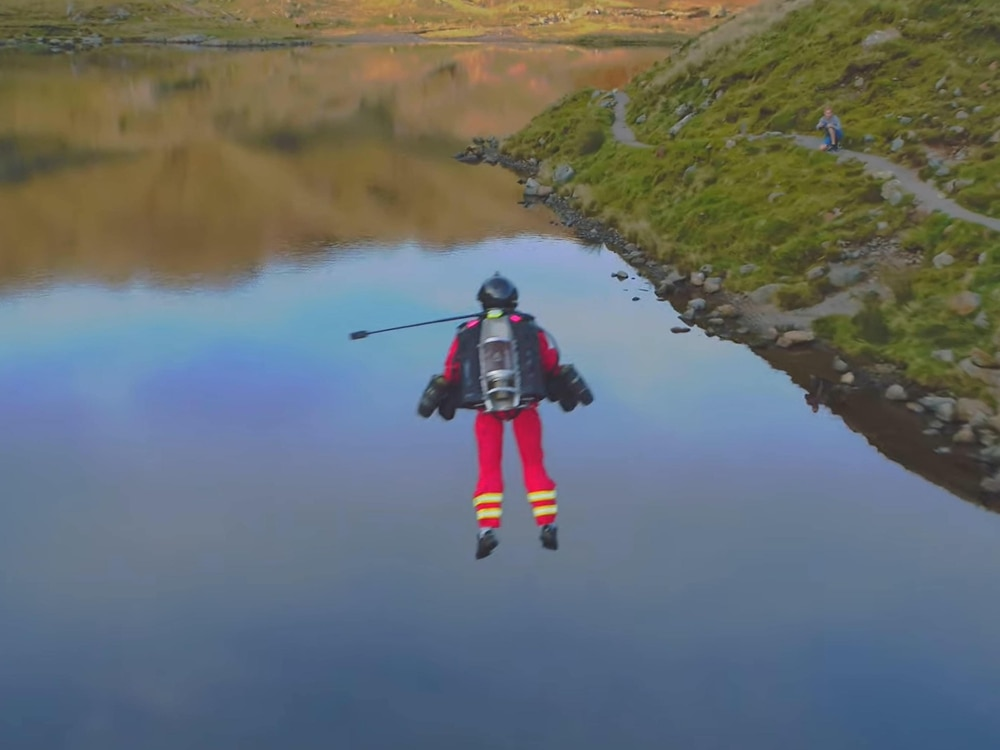 Jet suit paramedic tested in the Lake District 'could save lives'