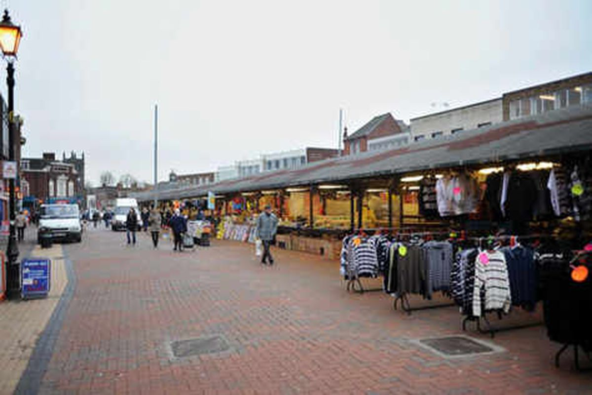 Council to freeze rents for stalls at Dudley market