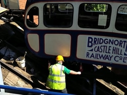 Overweight passengers mean heavy going for Bridgnorth Cliff Railway