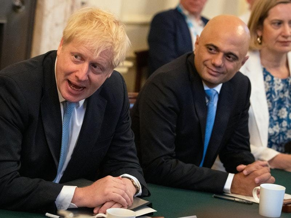 Britain's finance minister Javid says he has fantastic relationship with PM Johnson
