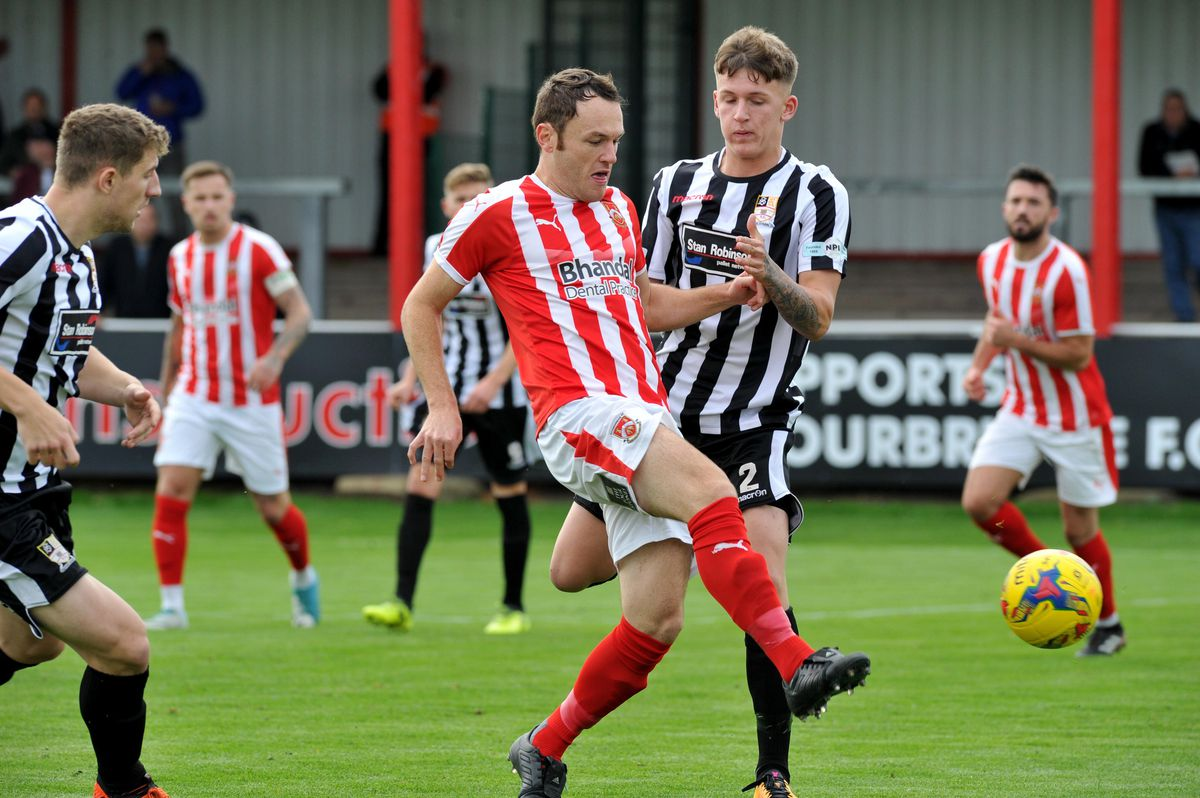 Stafford Rangers in action
