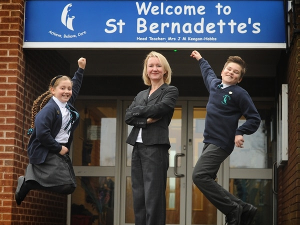 St Bernadette's Catholic Primary School: From closure threat to top of the class