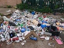 Rubbish dumped in Walsall following Birmingham bin strike
