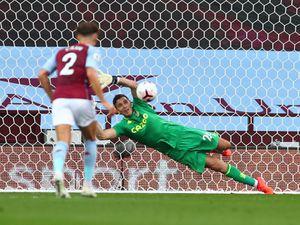 Aston Villa's Emiliano Martinez