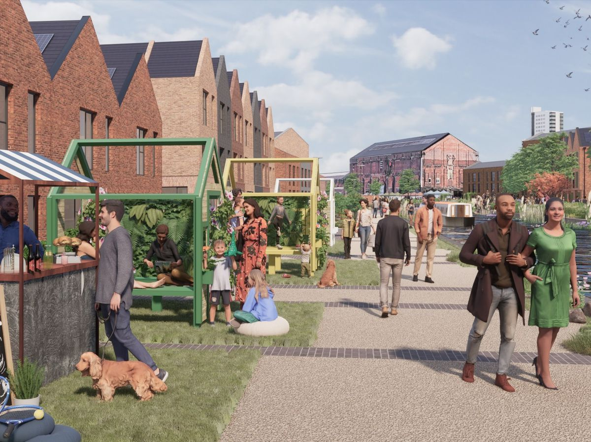 How Canalside South could look