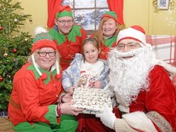 Crowds flock to Sandwell Valley for Santa's grotto