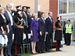 New armed forces rehab centre unveiled by Duke of Cambridge