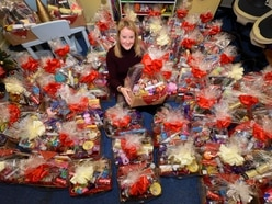 The Haven charity hamper appeal celebrates success