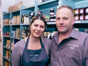 Kate and Steve Southern from Bewdley's Load Street Deli