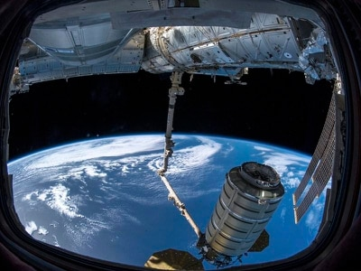 Two cargo deliveries in 15 hours for space station astronauts