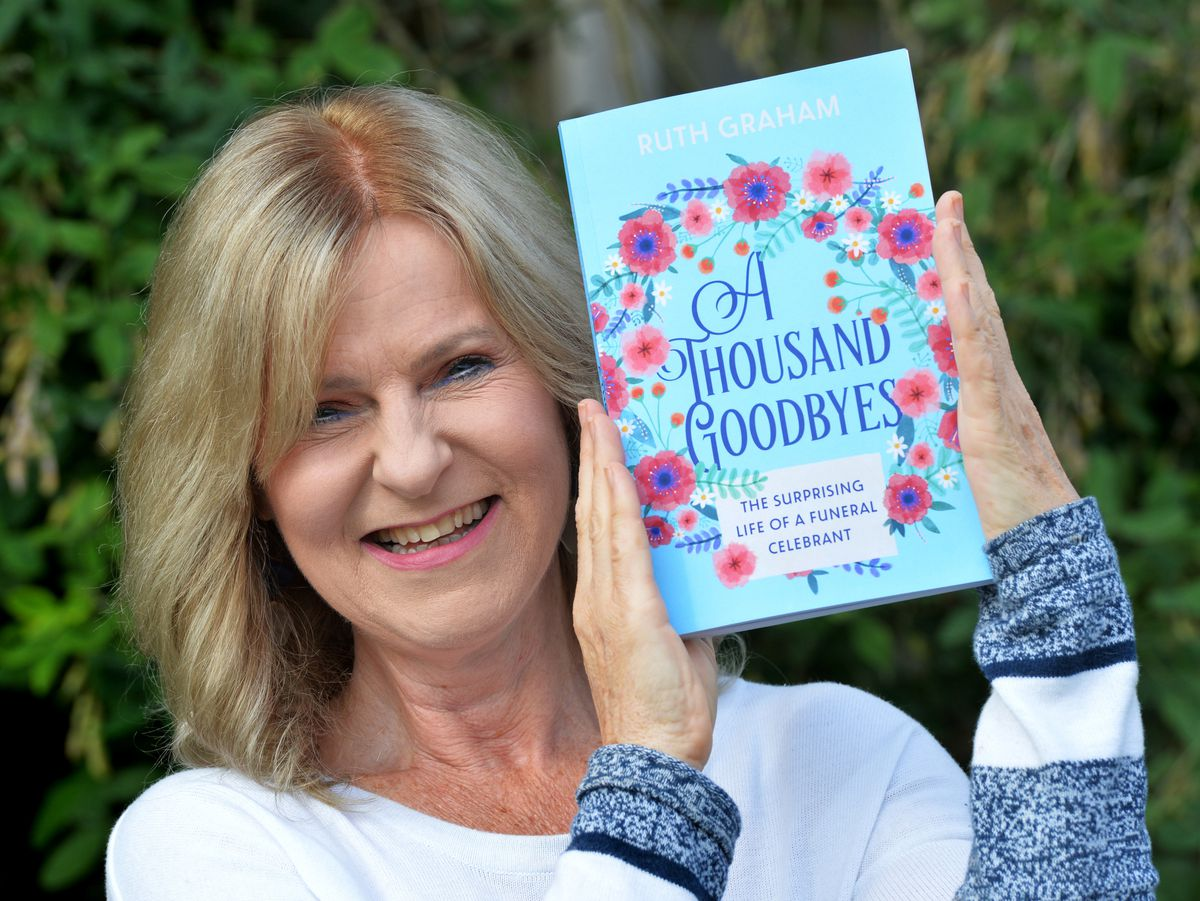 With her book 'A Thousand Goodbyes', author Ruth Graham