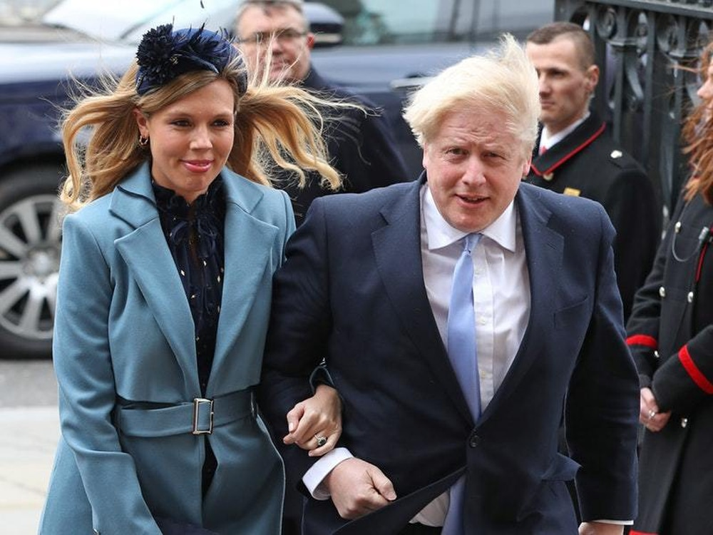 Boris Johnson's pregnant fiancee is recovering from coronavirus symptoms